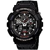 Casio Mens G SHOCK Military Analog-Digital Sport Quartz Watch NWT GA-100MC-1A