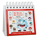 My Moods, My Choices TM Flipbook for Kids; 20 Different Moods/Emotions; Help Kids Identify Feelings and Make Positive Choices