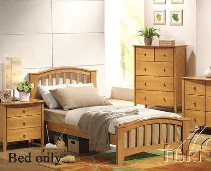 ACME San Marino Maple Full (Bedroom Maple Footboard)