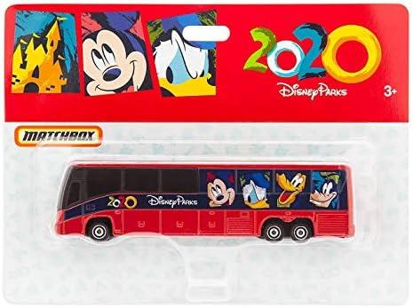 Disneyland Parks Matchbox Bus 2018 Mickey Mouse