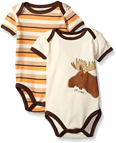 Touched by Nature 2-Pack Organic Cotton Bodysuits