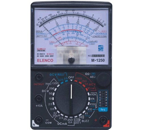 Analog Micro Voltmeter - Elenco  Multimeter  [ SOLDERING & ASSEMBLY REQUIRED ]