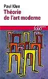 Théorie de l'art moderne par Klee