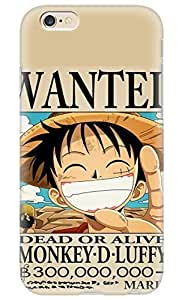 Anime One Piece Luffy PC Hard new cases for iphone 6 4.7