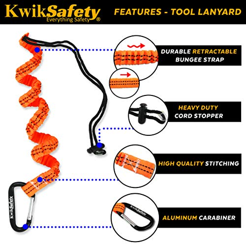 KwikSafety (Charlotte, NC) TSUNAMI Kit Vertical Lifeline Assembly 50 ft. Rope Snap hook Integrated Shock Absorber Dry Bag for Gear/Equipment | ANSI OSHA Personal roofing Fall Protection Arrest System by KwikSafety (Image #6)