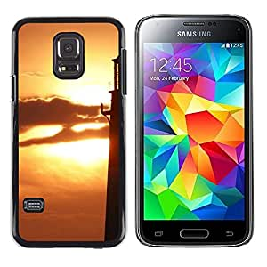 "For Samsung Galaxy S5 Mini ( NOT for regular S5 ) , S-type Sunset Beautiful Nature 74"" - Arte & diseño plástico duro Fundas Cover Cubre Hard Case Cover"