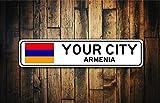 Fhdang Decor Armenia Flag Sign%2C Armeni