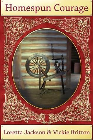 book cover of Homespun Courage