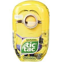 Tic Tac Despicible Me Minion Bundle, Kevin, Bob and Stuart(3 pack), 3.4 oz each