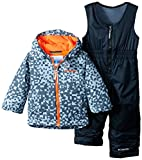 Columbia Little Boys' Toddler Frosty Slope Set, Trade Winds Grey Print, 2T
