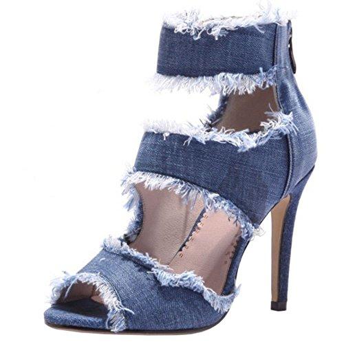 Sandals Sandals Jeans Zanpa Women Blue Zanpa Women Blue Zanpa Jeans qTOwII8
