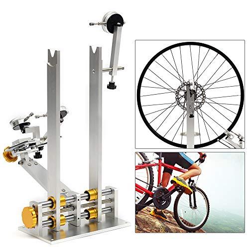 TFCFL Bike Wheel Repair Truing Bearing Stand Platform Set up Mechanic Bicycle Wheel Maintenance Tool for Rim Truing
