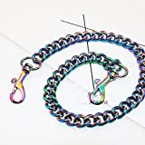 Width 13mm multicolor Aluminum Metal Purse Metal Chain For messenger bags Replacement Purse Strap / bag strap / handbag straps / shoulder strap DIY (23 inch)