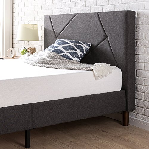 Zinus Upholstered Platform Bed, Full