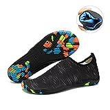Water Shoes Mens Womens Beach Swim Shoes Quick-dry Aqua Socks Pool Shoes For Surf Yoga Water Aerobics  Db.black 12 D(m) Us | amazon.com