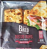 Brooklyn Bred (Bread) Bistro Buns Country Potato Non GMO Pack of 3 Vegan Kosher Organic