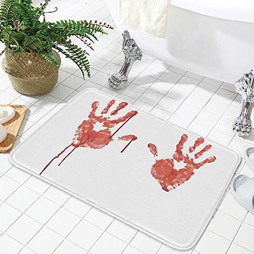TecBillion Custom Carpet,Horror,for Children Bedroom Corridor,23.62