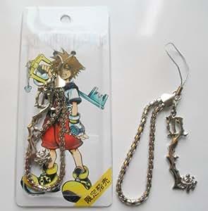 "3"" Kingdom Hearts Metal Key Blade Phone Charm Strap #9 ~Cosplay~"
