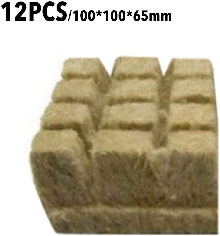 Stonewool Starter Cubes Rooting Growing Medium Seed Starting Hete-supply Rockwool Starter Plugs Grow Cubes Starter Sheet For Cuttings Plant Propagation Hydroponic