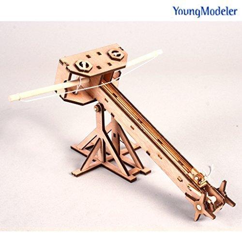 DESKTOP Wooden Model Kit Ballista by Young Modeler