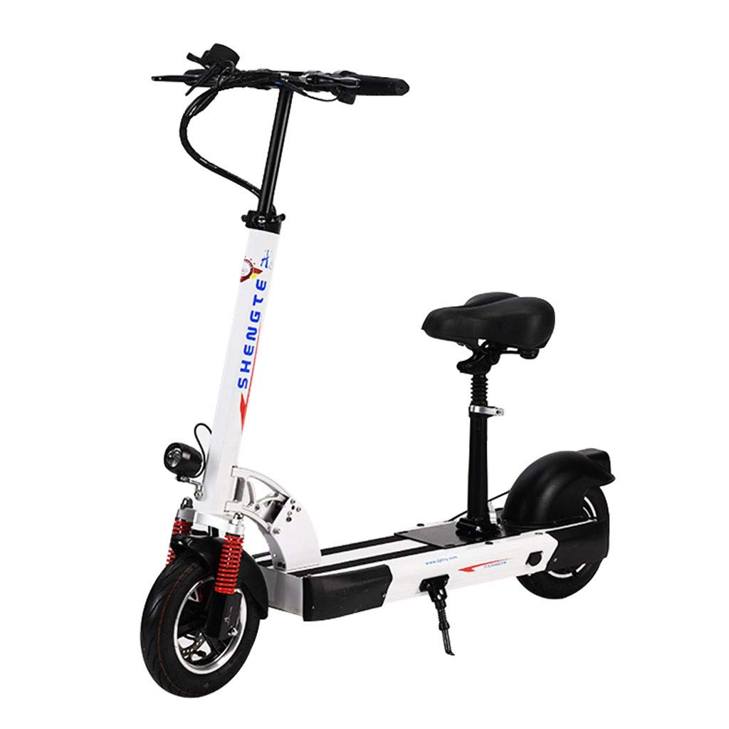 long teng Electric Scooter, 1-3 Gear Adjustment, Fixed Speed Cruise, Foldable Frame, Quad Shock Absorber, Color Meter…