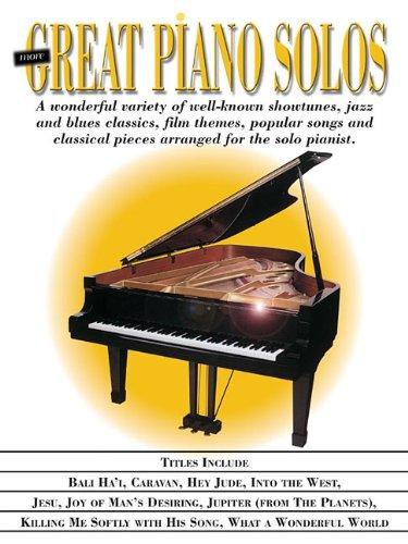 Read Online More Great Piano Solos ebook