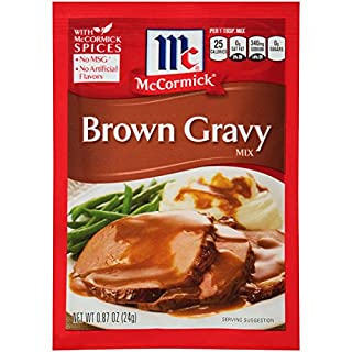 McCormick Brown Gravy Mix, 0.87 Ounce (Pack of 1)