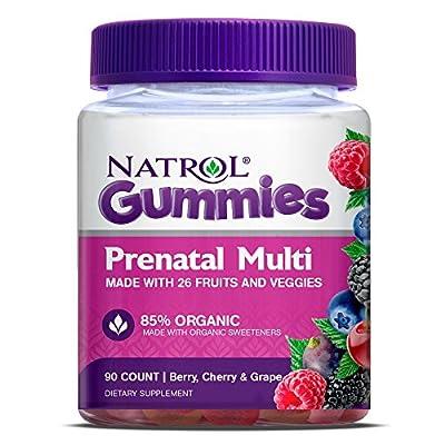 Natrol Prenatal Multivitamin Gummy, 90 Count