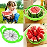 kitchen aid mixer watermelon - Stainless Steel Fruit Watermelon Cantaloupe Cutter Slicer Peeler Kitchen Gadgets