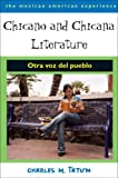 Chicano and Chicana Literature 9780816524273