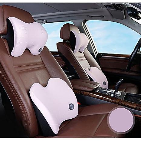 Amazon.com: Asiento de coche reposacabezas almohada de ...