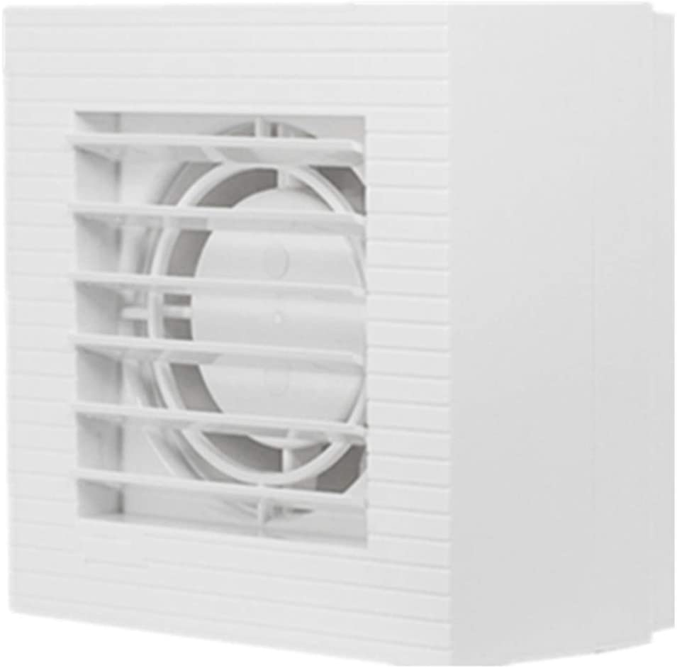 SCDMY Cuarto de baño Ventilación y Extractor con | Diseño y Doble Moderna Delgado Hanger Bar | Fácil instalación silenciosa de baño Aficionados del Ventilador