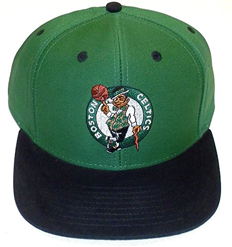 NBA Adidas Boston Celtics NZ843 Flat Bill HWC Classic Retro Snapback Hat Cap (Boston Celtics Classics Flat)