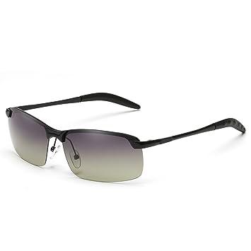 William 337 Lunettes lunettes de soleil conduite polarisant conduite miroir lunettes pilote miroir carré lunettes de soleil ( Couleur : A ) ePdTxcdl