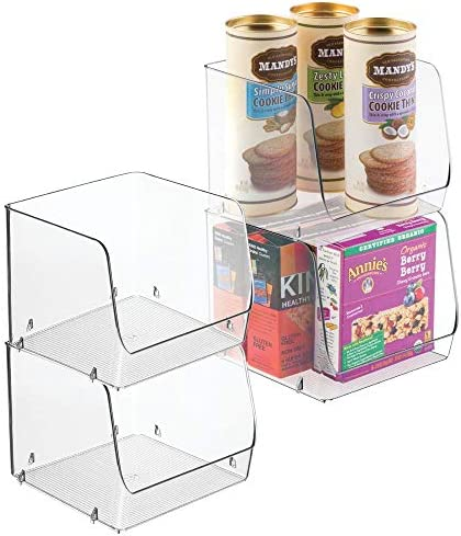 mDesign Household Stackable Organizer Bathrooms product image