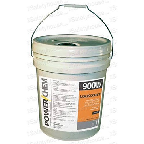 - PowerChem Lockcoat Penetrating Lockdown Asbestos Encapsulant White 5 Gallon Pail by TheSafetyHouse