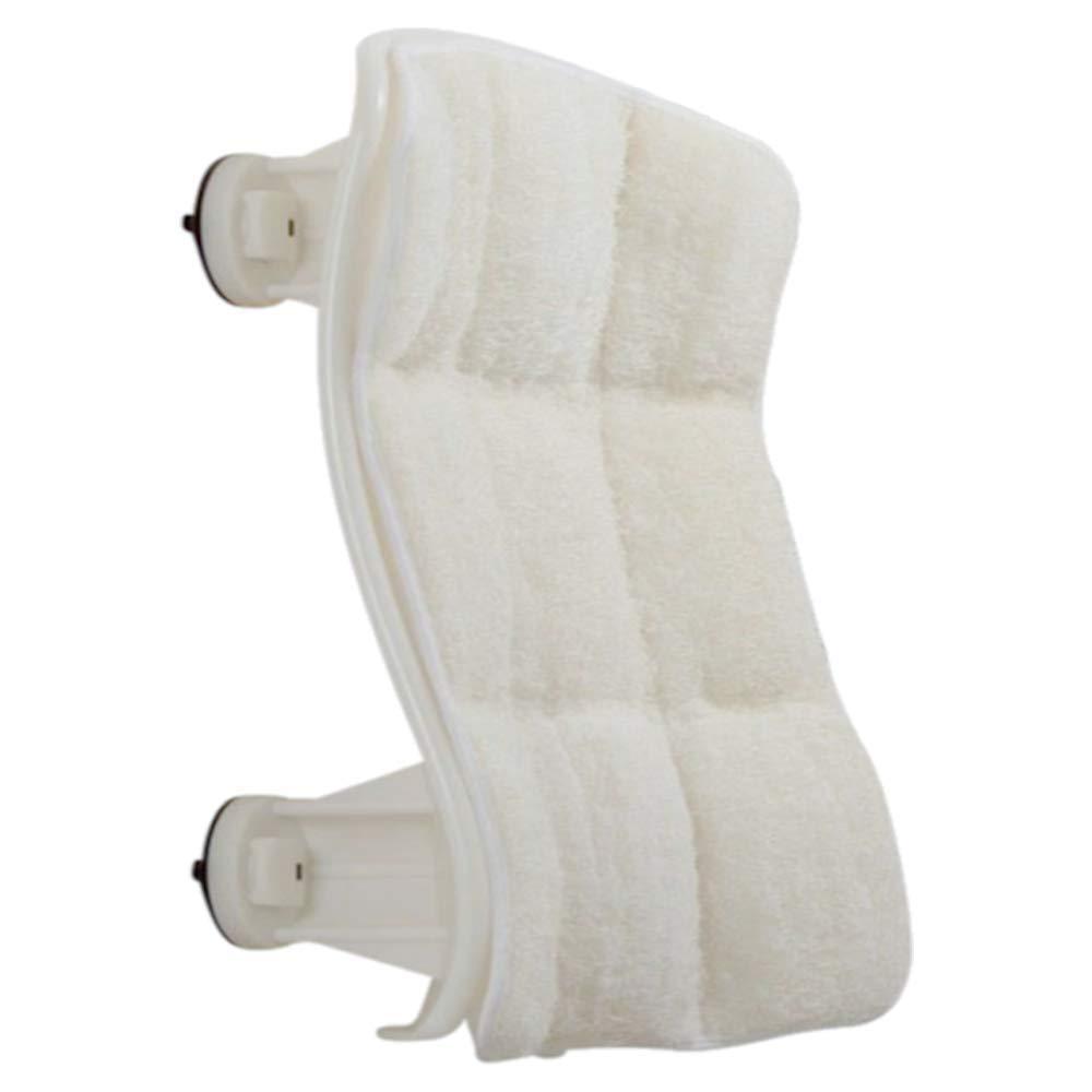 Luffoliate - Exfoliating Hands-Free Shower Loofah Back Scrubber (20 x 12 Inches) Medium by Luffoliate