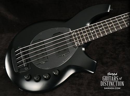 Bongo 5 String Bass - Ernie Ball Music Man Bongo 5 HH - Stealth Black