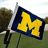 University of Michigan Golf Cart and Boat Flag