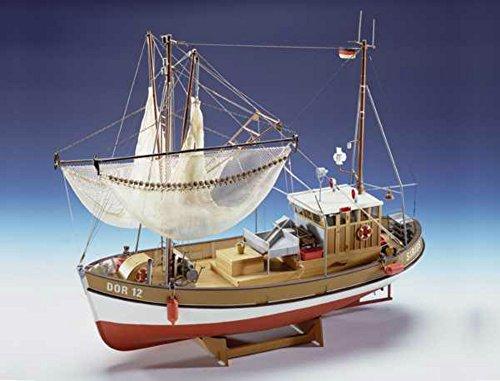 (Sirius Classic Fishing Trawler Kit - Model Ship Kit by Krick)