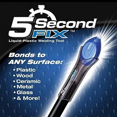 Ontel 5 Second Fix - Liquid-Plastic Welding Repair Tool, As Seen On TV
