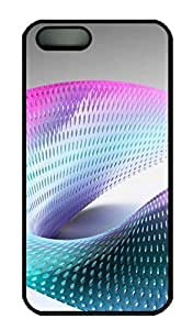 Abstract 3D 13 Cover Case Skin For Ipod Touch 4 Phone Case Cover Hard PC Black Kimberly Kurzendoerfer