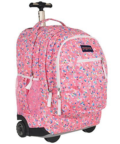 7ae921bfd9b1 Galleon - JanSport Driver 8 Rolling Backpack- Sale Colors (Confetti)