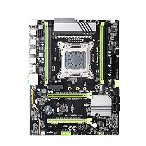 Lipiny Gaming Motherboard X79T DDR3 PC USB 2.0 Motherboard LGA 2011 CPU Computer Gaming Support M.2 E5-2680V2 i7 SATA 3.0 USB 3.0 for B75 Mainboard