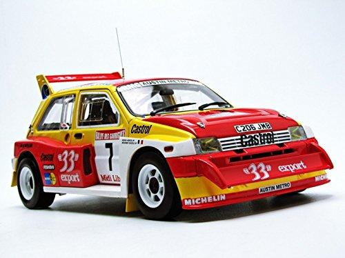 Amazon.com: Sunstar MG Metro 6R4 (Didier Auriol - Champion de France 1986) Diecast Model Car: Toys & Games