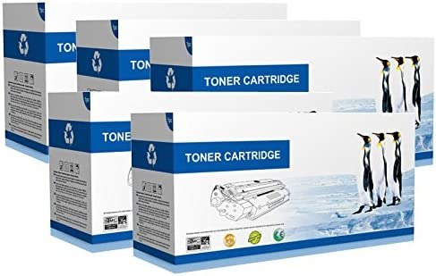 Supply Spot offers 5 Pack Black Compatible 42102901 Toners Cartridge B4350 Printers For Okidata B4300