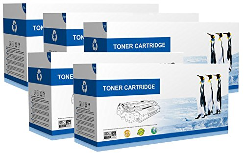 Supply Spot Compatible Canon 104 Black Toner ' 5 PACK ' ()