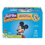 Pull-Ups Learning Designs Training Pants for Boys, 2T-3T, 74 Count (Packaging May Vary)
