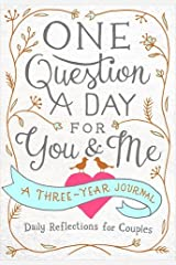 One Question a Day for You & Me Flexibound