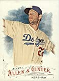 2016 Topps Allen and Ginter Baseball #299 Clayton Kershaw Los Angeles Dodgers